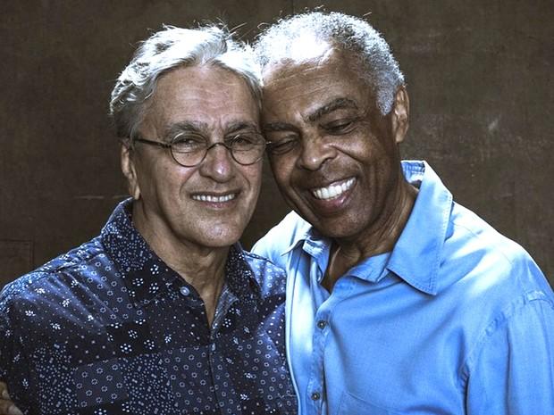 Canal Bis exibe DVD 'Multishow Ao Vivo - Dois Amigos, Um Sculo de Msica - Caetano Veloso e Gilberto Gil', nesta segunda (27), s 21h (Foto: Divulgao)