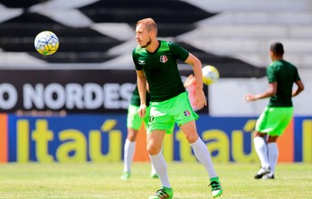 Uillian Correia pede para Santa Cruz pensar na vantagem sobre o Sport