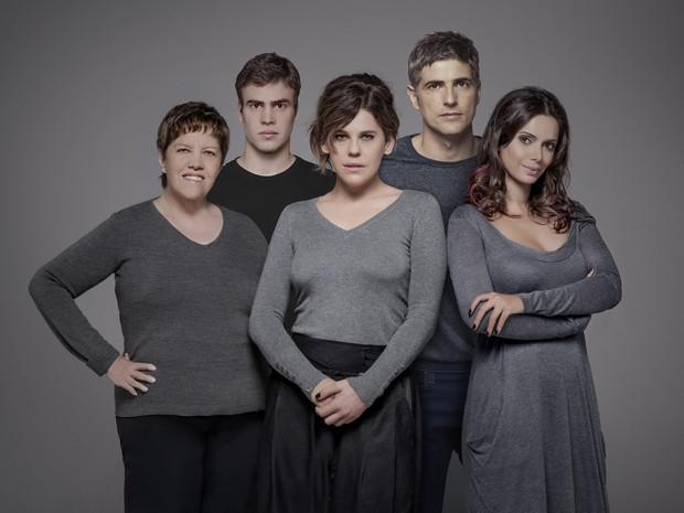Elenco da peça traz estrelas da televisão brasileira (Foto: Divulgação)