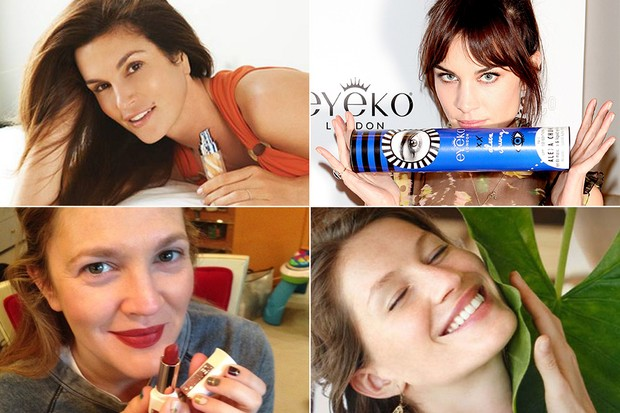 BELEZA - Cindy Crowford, Alexa Chung, Drew Barrymore e Gisele Bündchen (Foto: Divulgação)