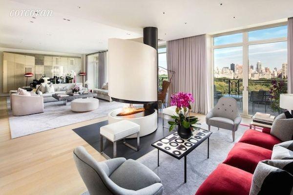 O apartamento de Sting em Nova York que foi vendido pelo cantor (Foto: Divulgação)