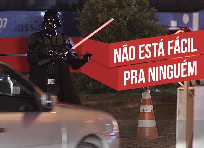 9c3d05e8873cd Não está fácil para ninguém! Assista Darth Vader e outros ...