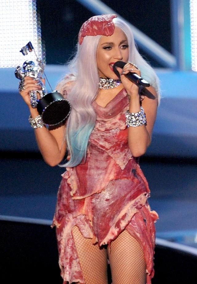 Lady Gaga no MTV Video Music Awards, em 2010 (Foto: Kevin Winter/Getty Images)