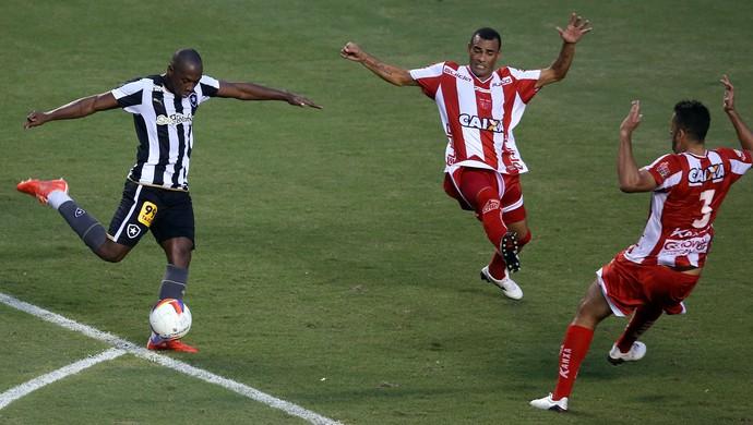 Sassá Botafogo x CRB (Foto: Satiro Sodre/SSPress)