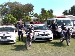 Carros e equipamentos garantem melhor apoio da guarda nas ações de segurança do município (Foto: Flávio Delazari/Ascom)