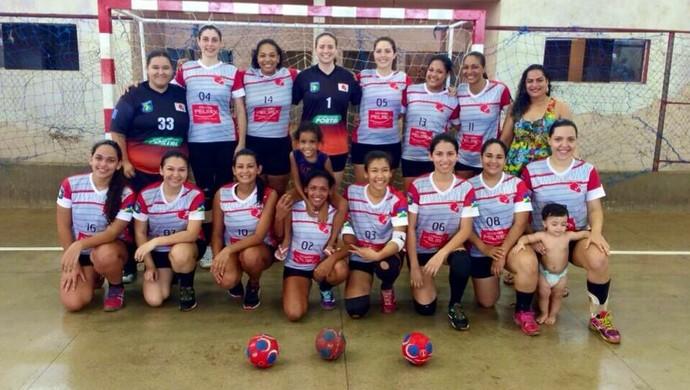 Rádio Farol campeã do Campeonato Rondoniense de Handebol  (Foto: Ana/ arquivo pessoal )