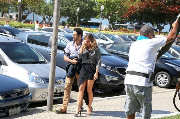 João Baldasserini e Giovanna Antonelli (Foto: André Freitas / AgNews)