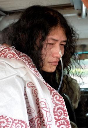 Irom Chanu Sharmila em foto de 28 de maio (Foto: Chandan Khanna/AFP)