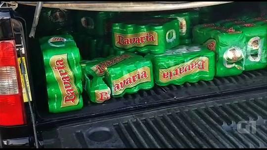 Presos suspeitos de saquear carga de cerveja após acidente com 2 mortos