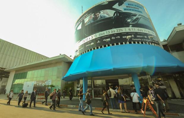 salão do automóvel sp 2012 (Foto: Flavio Moraes/G1)