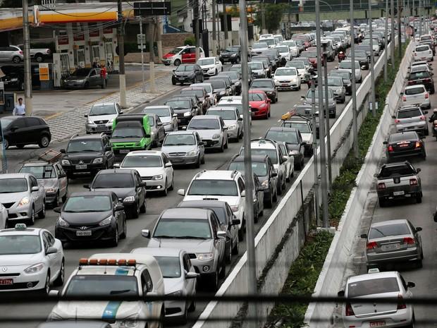 Trânsito em SP (Foto: Renato S. Cerqueira/Futura Press/Estadão Conteúdo)