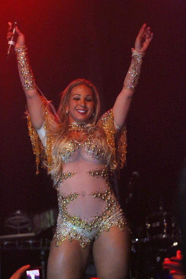 Valesca Popozuda faz show na Holanda (Foto: Francisco Silva/Ag News)