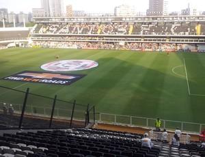 5a62859c5b Estádio Vila Belmiro (Foto  Lincoln Chaves) Vila Belmiro recebe Santos e ...