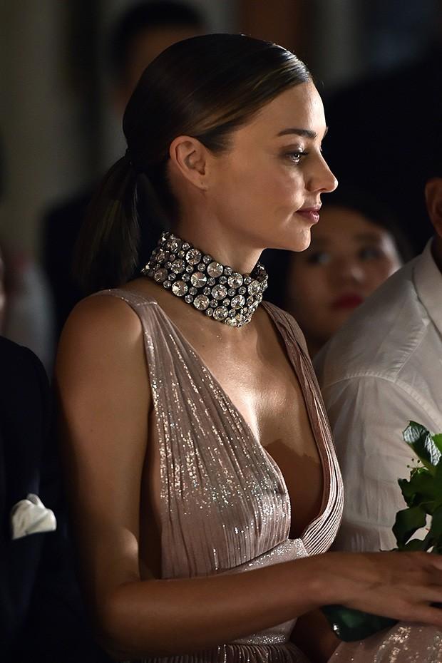 Miranda Kerr na semana de moda de Milão (Foto: Agência Getty Images)
