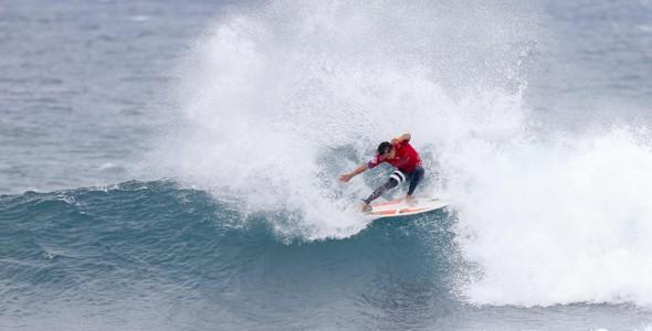 O australiano Julian Wilson ficou em segundo colocado (Foto: WSL)