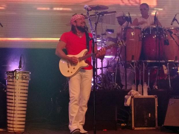 Bell Marques faz último show de palco antes de seguir em carreira solo (Foto: Jairo Gonçalves/G1)