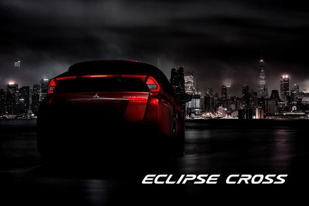 Eclipse Cross se destaca pelo vidro traseiro bipartido (Foto: Divulgação)