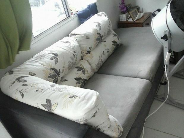 É necessário aspirá-lo diariamente e evitar que as crianças pulem e comam no sofá (Foto: Divulgação)