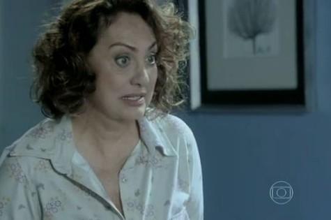 Eliane Giardini em cena como Ordália (Foto: Reprodução)
