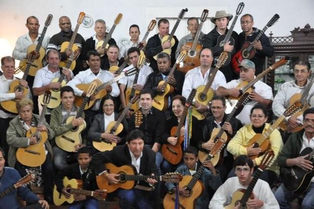 O grupo conta com mais de 50 músicos (Foto: Divulgação/Prefeitura de Itu )