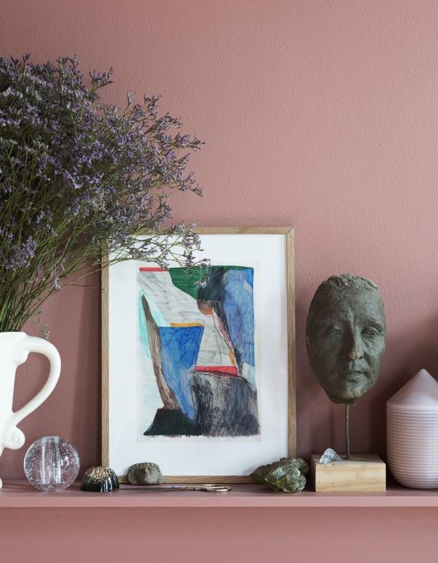 Rosa e preto: uma inesperada casa escandinava (Foto: Ferm Living/Divulgação)