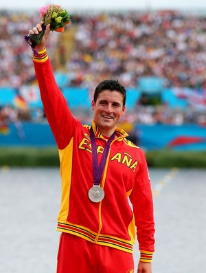canoista david cal olimpíadas londres 2012 (Foto: Agência Getty Images)
