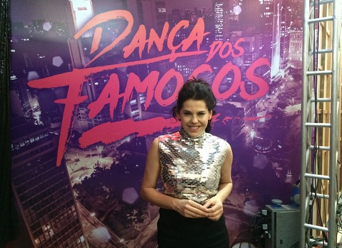 Bárbara Paz, que já fez o Dança dos Famosos, nem acredita estar com 40 (Foto: Aline Nunes/Gshow)