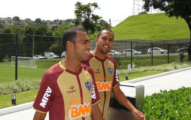 richarlyson alecsandro atlético-mg treino (Foto: Fernando Martins / Globoesporte.com)
