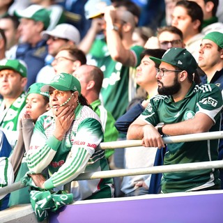 Torcida Palmeiras X Corinthians (Foto: Marcos Ribolli)