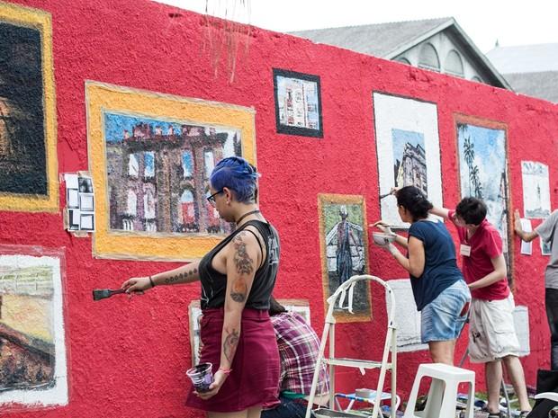 Ação de Marilice Corona e Studio P. (Foto: Beta Iribarrem/Divulgação)