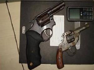 Revólver Abaetetuba Apreensão Polícia Assalto Homicídio Pará (Foto: Divulgação)