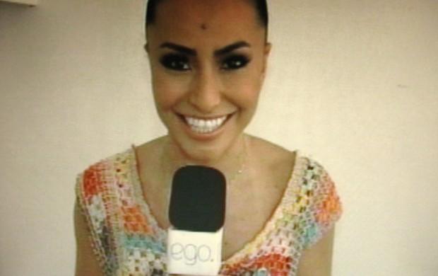 Sabrina Sato em entrevista ao EGO (Foto: EGO )