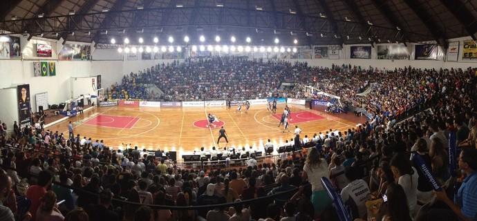 Ginásio Panela de Pressão, em Bauru (Foto: Caio Casagrande / Bauru Basket)