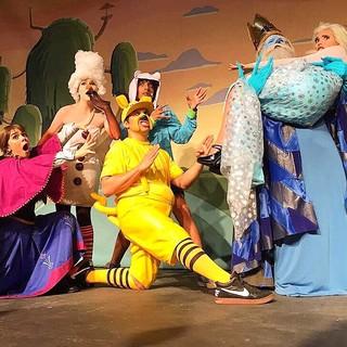Elenco de Os aventureiros no reino congelado (Foto: Dani Minervino/Divulgação)