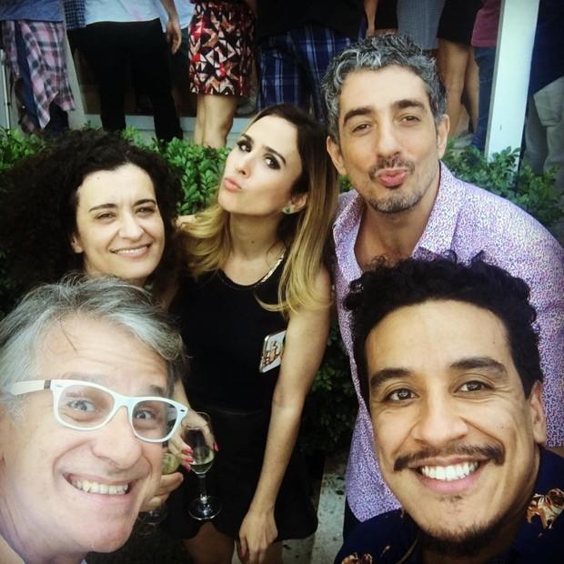 Tatá Werneck com amigos (Foto: Instagram / Reprodução)