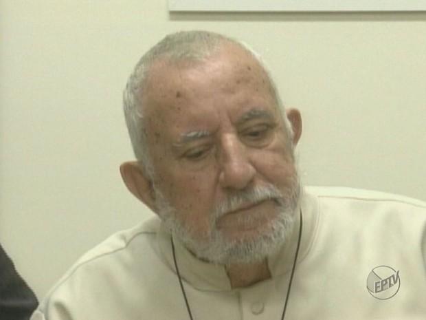 Padré José Afonso Dé, de Franca (SP) (Foto: Reprodução/EPTV)