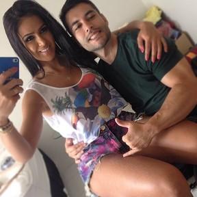 Dai Macedo e Rafael Guimarães (Foto: Reprodução/Instagram)