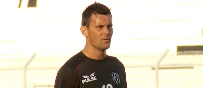 Giancarlo, atacante da Ponte Preta (Foto: Carlos Velardi / EPTV)