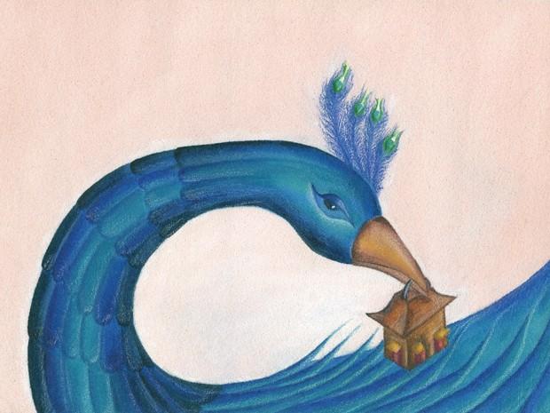 Luciano Pontes assina ilustrações e texto do livro 'Seu Rei Mandou' (Foto: Reprodução / Luciano Pontes)