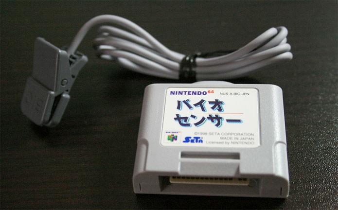 O BioSensor do Nintendo 64 (Foto: Reprodução/RetroGaming)