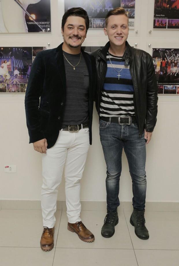 A dupla Jorge Henrique e Rodrigo (Foto: Ricardo Cardoso/Ed. Globo)