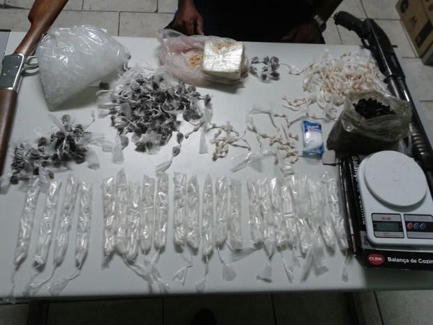 Guarda Municipal de Pedreira faz apreensão de drogas (Foto: Guarda Municipal de Pedreira)