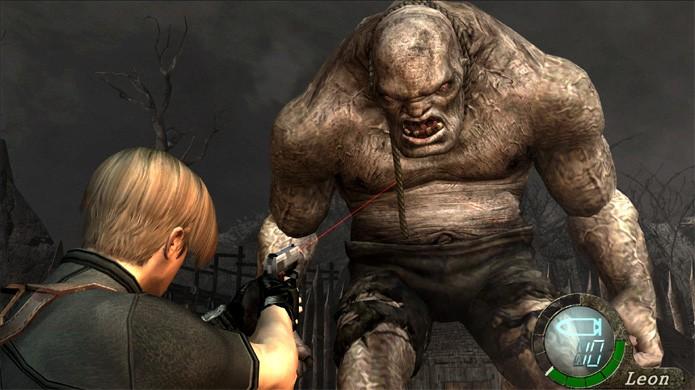 A luta com El Gigante é um dos primeiros grandes momentos em Resident Evil 4 (Foto: Reprodução/PlayStation Enthusiast)
