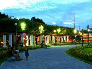 Praça da Saudade de Manaus (Foto: Tiago Melo/G1 AM)