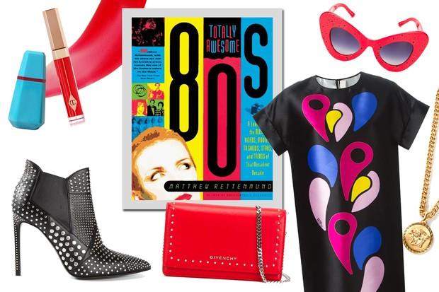 Anos 80: uma seleção de peças da década da vez (Foto: Reprodução)
