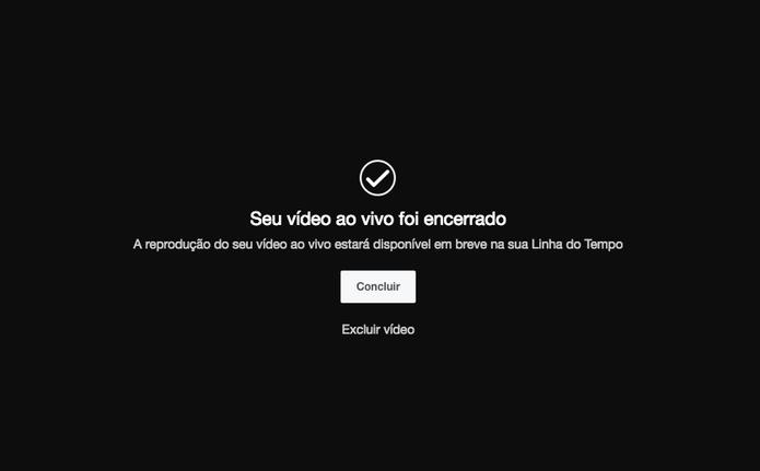 Como fazer transmissão ao vivo no Facebook usando o navegador Web (Foto: Reprodução/Felipe Vinha)