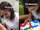 Bruna Marquezine perde jogo para Neymar e ele 'zoa' a namorada