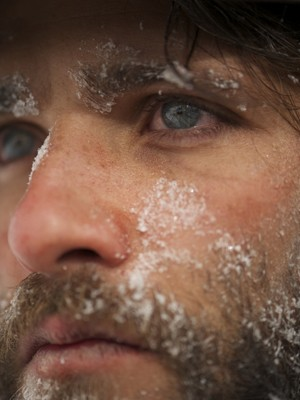 Bruno Gagliasso na neve: Franz (Foto: Arquivo Pessoal)