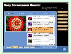 Editor de screensavers