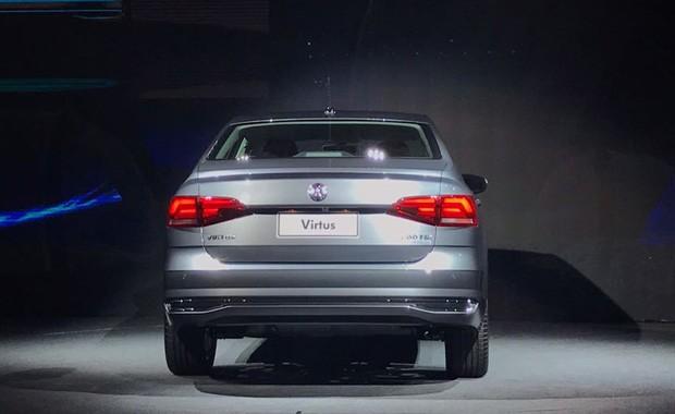 Volkswagen apresenta novo Virtus (Foto: Julio Cabral )